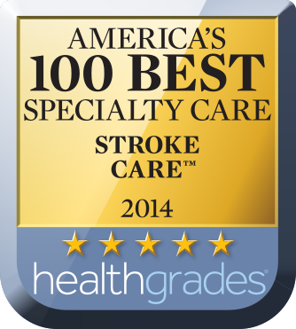 America's 100Best Specialty Care - Stroke Center Award