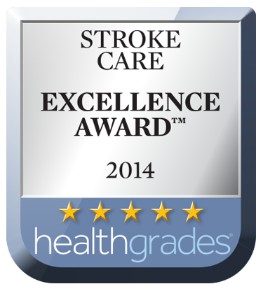 HealthGrade Stroke Care Excellence Award