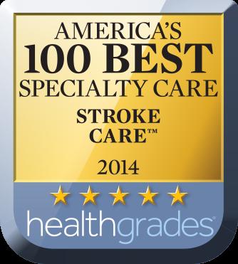 America's 100Best Specialty Care - Stroke Center Award
