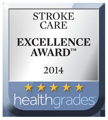 HealthGrade Stroke Care Excellence Award